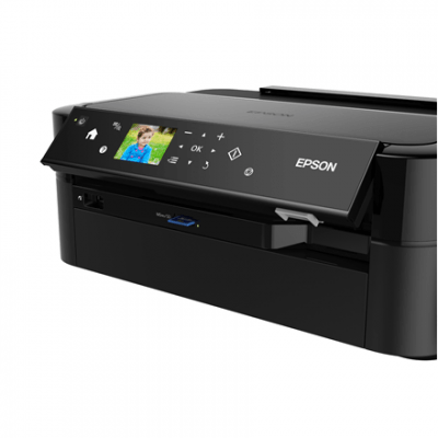 Epson L810 Colour, Inkjet, Printer, A4, Black