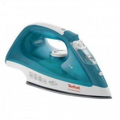 TEFAL LinenCare Access  FV1542E3 2100 W, Steam iron, Continuous steam 25 g/min, Steam boost performance 100 g/min, Anti-drip function, Vertical steam function, Water tank capacity 250 ml