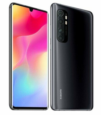 MOBILE PHONE MI NOTE 10 LITE/64GB BLACK MZB9203EU XIAOMI