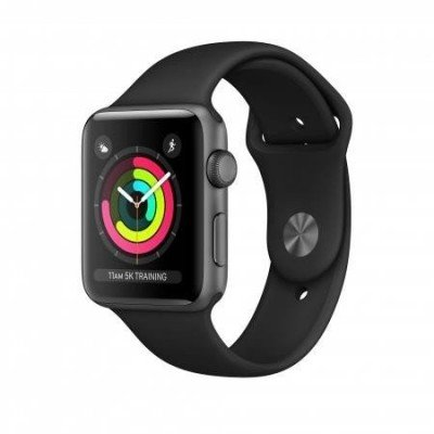 SMARTWATCH SERIES3 38MM ALUMIN/GREY/BLACK SPORT MTF02 APPLE