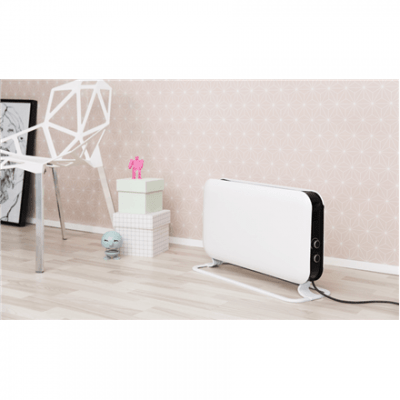 Mill SG2000MEC Convection Heater, Number of power levels 3, 2000 W, Suitable for rooms up to 30 m², Number of fins Inapplicable, White