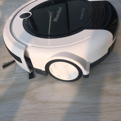 Mamibot Provac plus Vacuum cleaner robot, Working time 80-100 min, 4 modes, 2 side brushes, Black/White