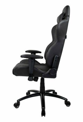 Arozzi Inizio Black Gaming Chair, Grey logo