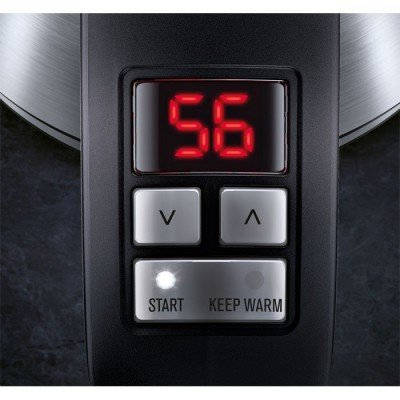 Electrolux Kettle EEWA7700 With electronic control, Stainless steel, Stainless steel, 2400 W, 360° rotational base, 1.7 L