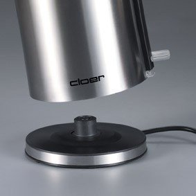 CLoer 4909 Kettle Cool Wall Kettle, Stainless steel, 2000 W, 360° rotational base, 1.2 L