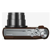 "Panasonic DMC-TZ57EP-T Compact camera, 16 MP, Optical zoom 20 x, Digital zoom 4 x, Image stabilizer, ISO 6400, Display diagonal 3.0 "", Wi-Fi, Focus 0.03m - ∞, Video recording, Lithium-Ion (Li-Ion), Brown"