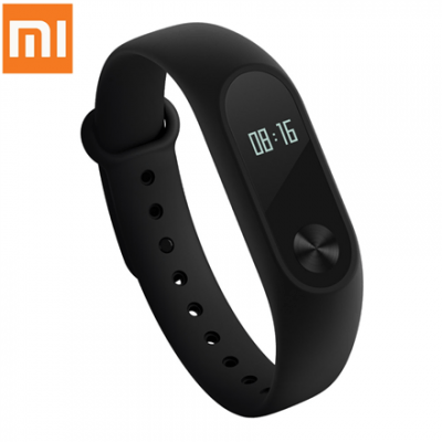 "Xiaomi Mi Band 2 Black, Waterproof, 0.42"" OLED, Warranty 12 month(s), Bluetooth, Built-in pedometer, Heart rate monitor"