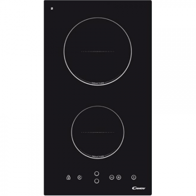 Candy Domino CDI 30  Induction, Number of burners/cooking zones 2, Black, Display, Timer