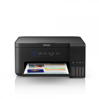Epson Multifunctional printer L4150 Colour, Inkjet, Cartridge-free printing, A4, Wi-Fi, Black