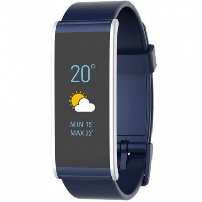 MyKronoz Smartwatch  Zefit4  80 mAh, Activity tracker with smart notifications, Touchscreen, Bluetooth, Blue/Silver,