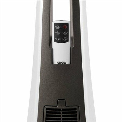 Unold 86430 PTC Heater, Number of power levels 3, 1500 W, White/ grey