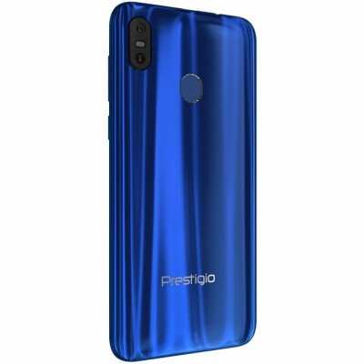 """Prestigio, X pro, PSP7546DUO, Dual SIM, 4G, 5.5"""", HD+ (1440*720), 18:9, IPS, in-cell, 2.5D, Android 8.1 Oreo, Octa-Core 1.6GHz, 3GB RAM+16GB eMMC, 5.0MP front+13.0MP dual-lens rear camera with flash light, 3000 mAh battery, Fingerprint, Midnight blue glass cover"""
