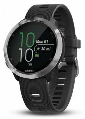 GARMIN FORERUNNER 645, GPS RUNNING WATCH WITH CONTACTLESS PAYMENTS AND WRIST-BASED HEART RATE - BLACK