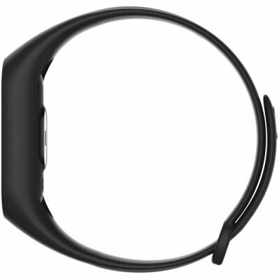 Smart band, 0.42inch, pedometer, heart rate monitor, 60mAh long life battery, compatibility with iOS and android, Black, host: 40*15*10.5mm, strap: 233*12mm, 18g